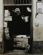 [Doorway with Hanging Pots, Kitchenware Shop, Havana] 1933