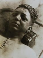 [Postmortem Photograph of Young Man], 1933.