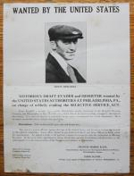 Bergdoll wanted poster