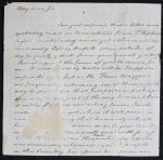 Benjamin Harrison Letter
