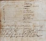 17th century Philadelphia Account Book