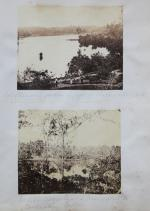 """""""Col Stevenson's garden & part of Backwater with Sepoy gardeners &c – Quilon"""