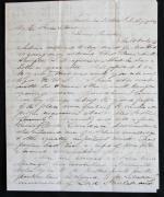 Interesting Letter by Samuel Damon Hawaiian Missionary