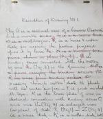 George R. Carey Manuscript
