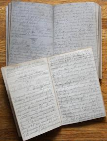 Early Manuscript Lecture Notes from New York University Medical School