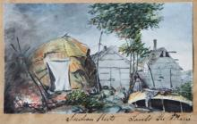 """Indian Huts Sault Ste. Marie"""