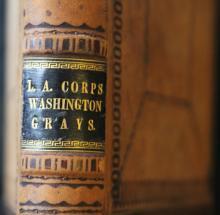Washington Grays Account Book