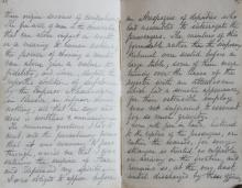 Manuscript Account of Travel from England to Russia and Poland in 1872